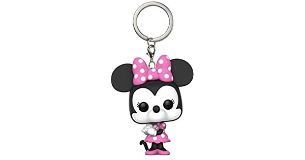 Amazon.com: Funko POP Llavero: disney-minnie mouse ...