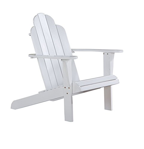 Linon Adirondack Chair, White