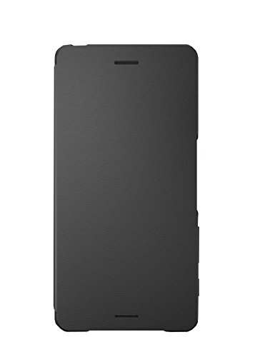 4 opinioni per Sony BTSOSCR52B Flip Cover per Xperia X, Nero