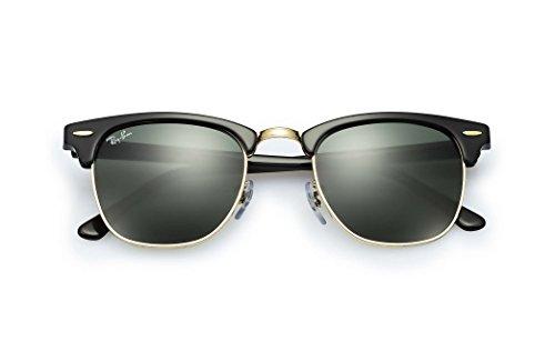 عینک آفتابی مدل کلاب مستر 3026 با لنز سبز محصول برند ری-بن. |