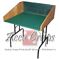 AccuCraps Double-Sized Craps Practice Table with Legs - Traditional Underlayment