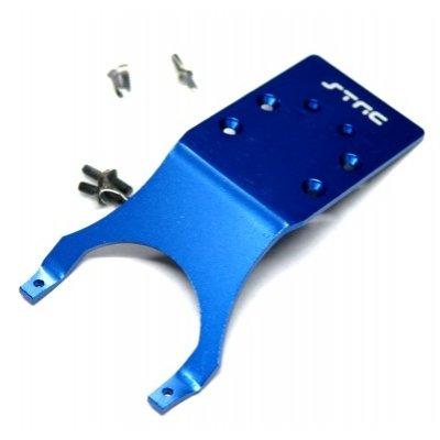 (ST Racing Concepts ST3623RB Rear Skid Plate for Stampede and Slash (Blue))