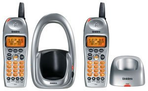Uniden DCT 646-2 2.4 GHz Expandable Cordless Phone with Dual Handsets and Caller ID