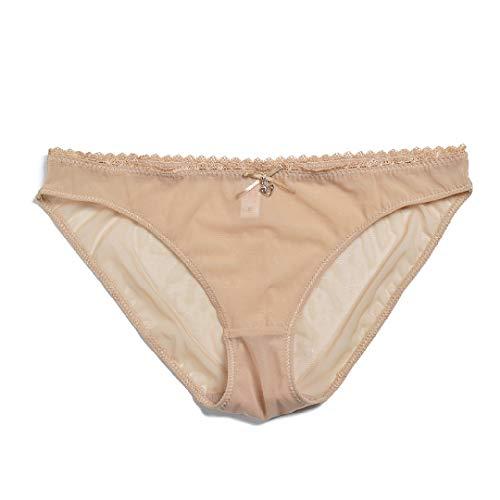 Dreamstar Women Bra Panty See Through Sexy Gauze Mesh Transparent Thin Bras