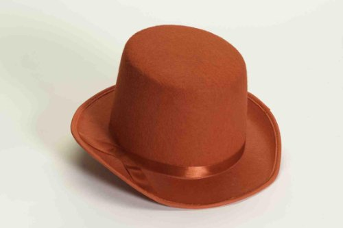 Red Hat Costume (Forum Novelties Men's Deluxe Adult Novelty Top Hat, Red, One Size)