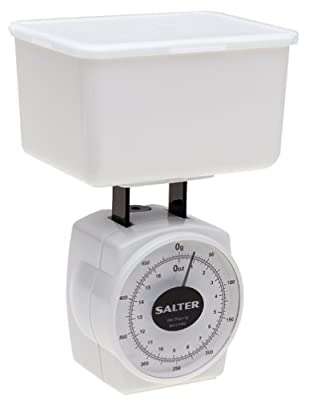 Salter Mechanical Diet Scale (White, 1-Pound)