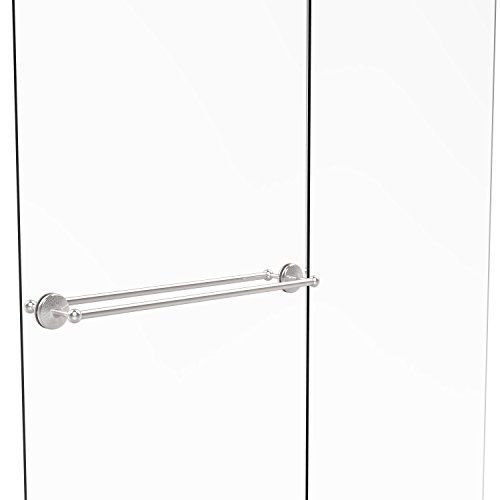 Allied Brass MC-41-BB-30-PC Monte Carlo Collection 30 Inch Back Shower Door Towel Bar, Polished Chrome