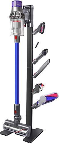 XIGOO Storage-Stand-Docking-Station-Holder-for-Dyson V11 V10 V8 V7 V6 Cordless Vacuum Cleaners & Accessories, Stable Metal Bracket Organizer Rack, Black