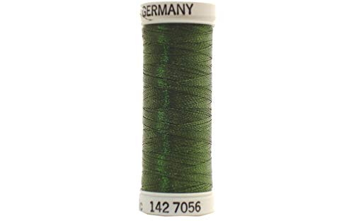 Sulky 142-7056 Metallic Thread for Sewing, Pine Green