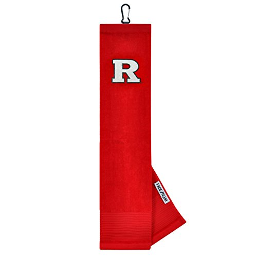 Rutgers Scarlet Knights Face/Club Embroidered Towel