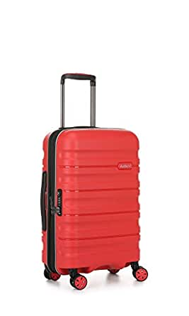 Antler 4227107019 Juno 2 4W Cabin Roller Case Carry-Ons (Hardside), Red, 56 cm