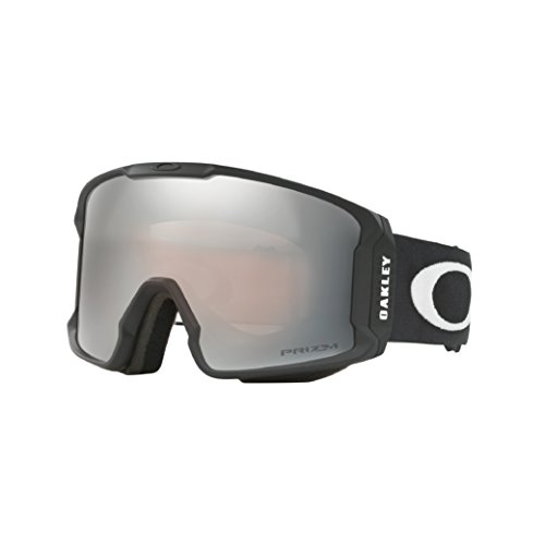 Oakley Men's Line Miner Snow Goggles, Matte Black, Prizm Hi Pink, - And Pink Oakley Sunglasses Black