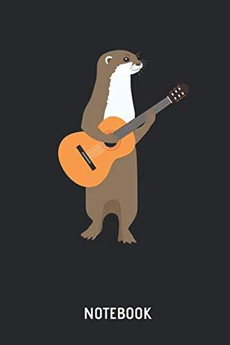 Otter   Notizbuch: Otter mit Gitarre - Liniertes Notizbuch & Schreibheft für Männer, Frauen und Kinder. Tolle Geschenk Idee für alle die Otter Fans und Gittaristen.. . (German Edition) ()