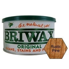 Briwax (Rustic Pine) Furniture Wax Polish, Cleans, stains...