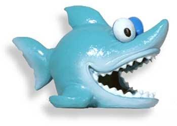 Fish Shark Caves Fun - Fish & Aquatic Supplies Resin Ornament - Fun Fish Caves Happy Shark