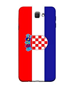 ColorKing Football Croatia 02 Multi Color shell case cover for Samsung J5 Prime