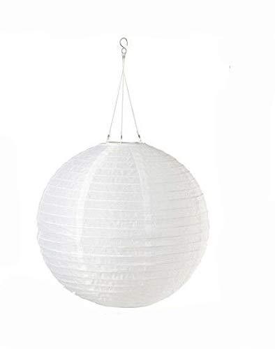 Ikea Solvinden Solar-Powered Pendant Lamp (White)