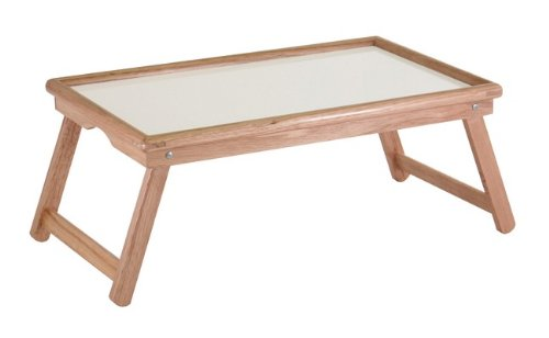 bed lap tray genuine wood