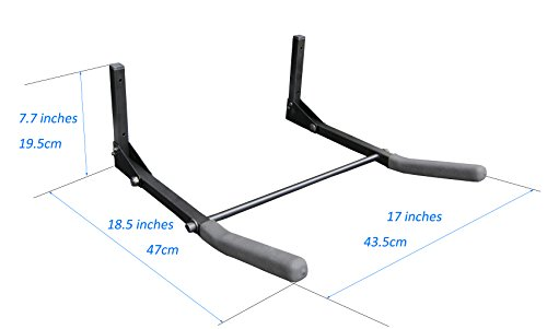 FITOOL Heavy Duty Bicycle Holder, Bike Wall Hanger, Bicycle Storage Rack,  Cycling Storage