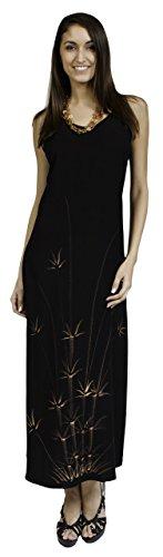 cream and black strapless dress - 8