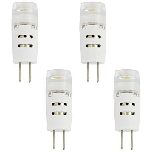 20W Equivalent Clear 1.5W LED Dimmable G4 Bi-Pin 4-Pack - Tesler