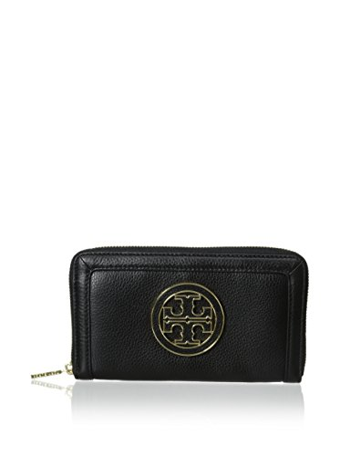Zip Around Long Wallet (Black) - 4