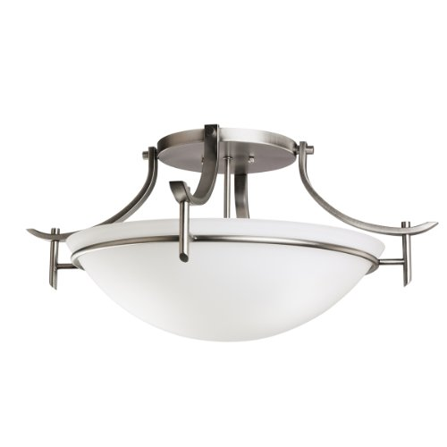 Kichler 3606AP Three Light Flush
