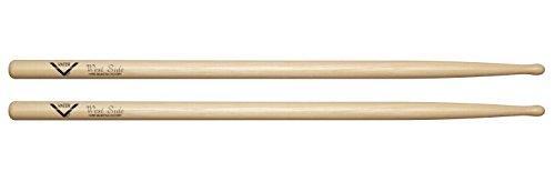 - Vater West Side Hickory Drum Sticks Oval Tip, Pair