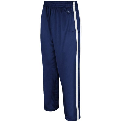 Colosseum Mens Tearaway Athletic Pants (Navy/White) - Large ()