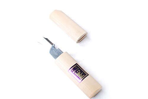K-master Shinai Pocket Knife Wood Handle with Cap One Size Wood
