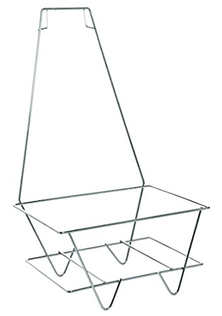 Fabulous Amazon.com: Metal Shopping Basket Stand with Sign Holder  SZ32
