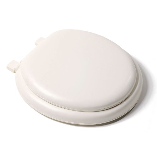 Bath Décor 6F1R1-23 Deluxe Soft Round Closed Front Toilet Seat low-cost