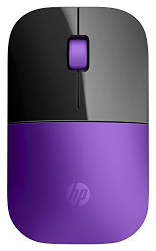 HP-24-GHz-Wireless-USB-Mouse-Z3700-Sport-Purple