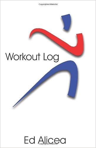 amazon com workout log 9781420895360 ed alicea books