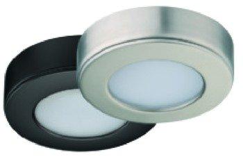 Loox Led - Recess/Surface Mounted Downlight, Loox LED 2020, 12V, Matt nickel, cool white 4000 K