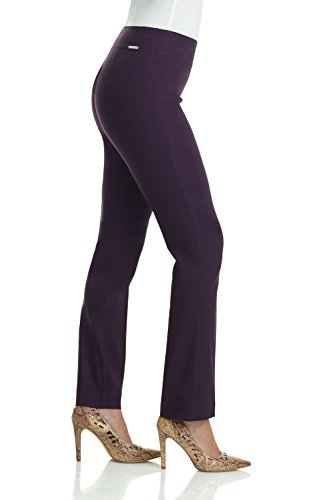 14c00ba77ae Rekucci Women s Ease in to Comfort Straight Leg Pant with Tummy Control  (12