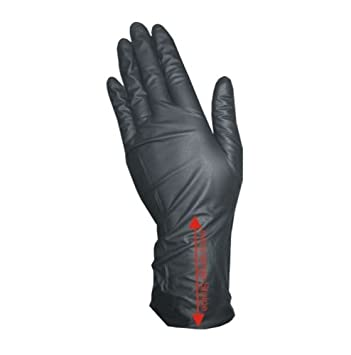 COIPRO - Guanti in vinile con manicotto XL senza polvere, misura grande 1070