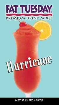 Fat Tuesday Drink Mix Hurricane Daiquiri 32OZ Sold Each