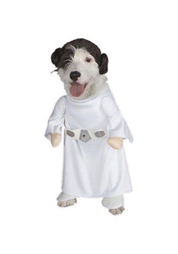 Princess Leia Dog Costume - S