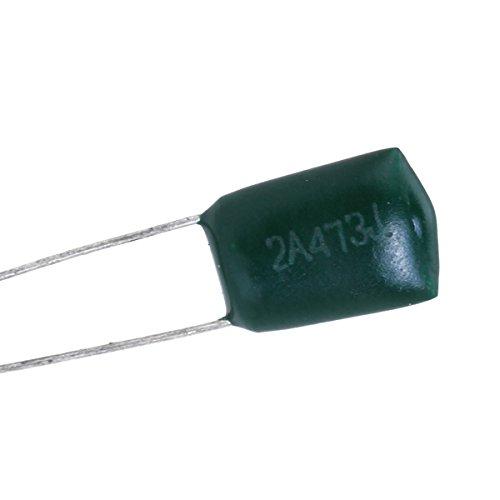 10pcs 47000pF 100V 2a473j Verde Poliester Condensador De Pelicula Para Guitarra Electrica: Amazon.es: Instrumentos musicales