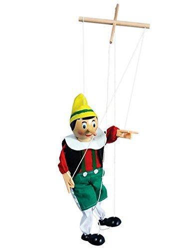 Pinocchio Marionette - The Original Toy PINN Pinocchio Marionette, 15-Inch by The Original Toy Company