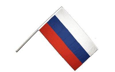 Flaggenfritze/® Gro/ße Stockflagge Schwenkflagge Russland 60 x 90 cm