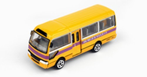 TINY No.13 Toyota Coaster school bus finished product