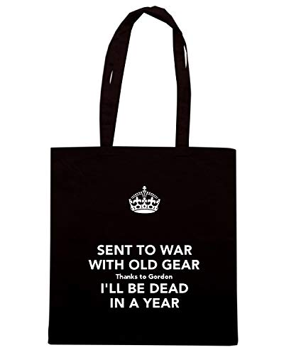 DEAD Shirt Nera GORDON Borsa I'LL BE YEAR Shopper THANKS OLD WAR AND CALM IN KEEP TKC4070 A SENT GEAR WITH Speed TO TO HqdwtaH