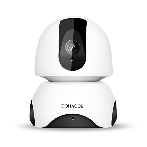 Wireless 1080P WiFi Camera,IP Indoor Security Camera System with Night Vision Motion Detection 2-Way Audio,Home Security Surveillance Pan/Tilt/Zoom Monitor for Baby/Elder/Pet