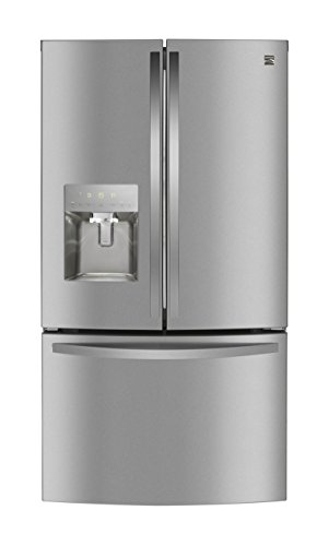 Kenmore 73105 French Door Smart Refrigerator, 27.9 cu. ft. in Active Finish Stainless Steel-Works with Alexa and enabled with Amazon Dash Replenishment System, includes delivery and hookup