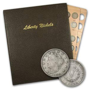 1883 1912 Liberty Head V Nickel Set (In Dansco Album) Brilliant Uncirculated