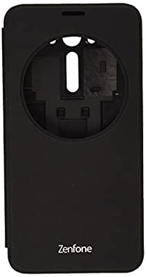 ASUS View Flip Cover for Zenfone2 Laser - Retail Packaging - 5.5 Inch Black