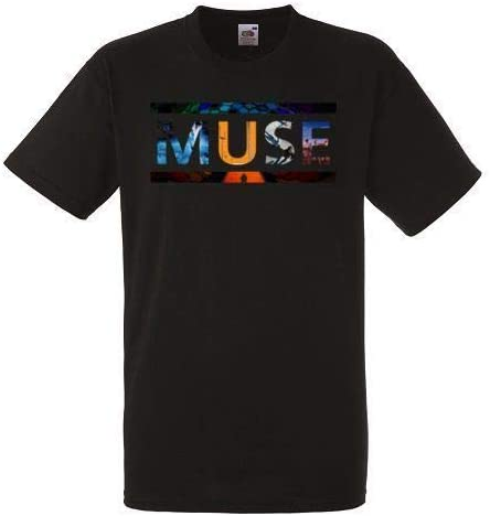 Cid Muse-Drones Circle T-Shirt Homme