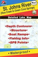 (St. Johns River Fishing Map, from Rice Creek to Green Cove Springs (Florida Saltwater Series, L259))